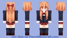 Give me skin ideas, thank u ♥ Minecraft Skin