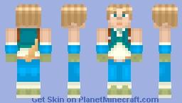 Zidane Tribal (20th Anniversary of Final Fantasy IX) Minecraft Skin