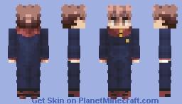 Itadori Yuji Minecraft Skin