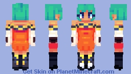 Cerebella | Skullgirls Minecraft Skin