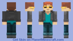 You look at this man! Minecraft Skin