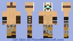 Borderlands Psycho Minecraft Skin