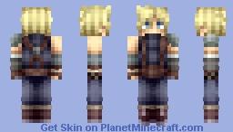 Cloud Strife | Final Fantasy VII Minecraft Skin