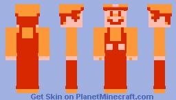Fire Mario (SMB3) Minecraft Skin