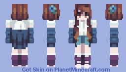 Shades of Indigo Minecraft Skin