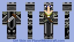 Skin Request - Dark Knight (Edited) Minecraft Skin