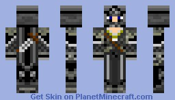 Skin Request - Dark Knight Minecraft Skin