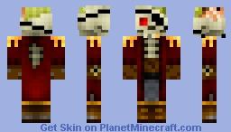 The Pirate Minecraft Skin