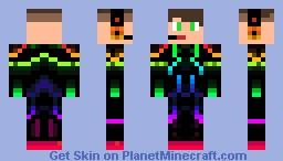 Skin Rainbow Minecraft Skin