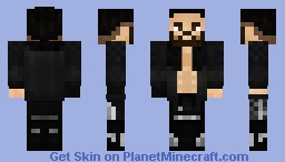 WWE Seth Rollins 2020 (Jacket) Minecraft Skin