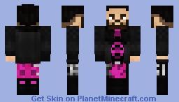 WWE Seth Rollins SummerSlam 2020 Minecraft Skin