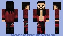 WWE Seth Rollins Royal Rumble 2021 Minecraft Skin