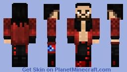 WWE Seth Rollins WrestleMania 37 Minecraft Skin