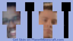 Channing Tatum and 2Mad Minecraft Skin