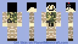 Camo skin-jonilo5 Minecraft Skin