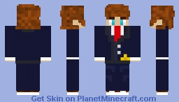 watxhy but suit for business Minecraft Skin