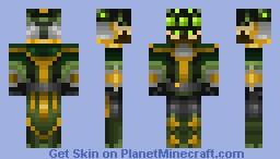 Master Yi from lol Minecraft Skin