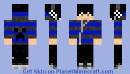 Skater Emo Dude Minecraft Skin