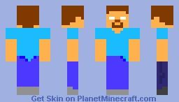 Minecon Herobrine Minecraft Skin