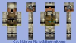 Battlefield 3 Soldier Minecraft Skin