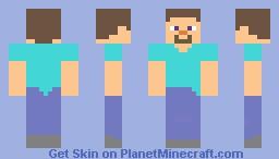 Minecon Steve Minecraft Skin