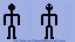 Stick Figure [Original] Minecraft Skin