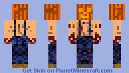 Pumpkin Head Minecraft Skin