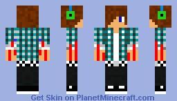 emo man Minecraft Skin