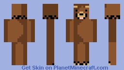 Bear [LOOKS BETTER IN PREVIEW!!!] Minecraft Skin