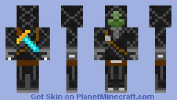 Zombie Ninja Minecraft Skin