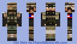 US Army Soldier Minecraft