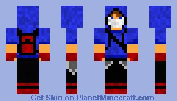 parkour man! Minecraft Skin