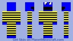 cookie monster Minecraft Skin