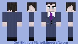 G-Man Minecraft Skin