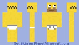 Homer in Unterhose Minecraft Skin