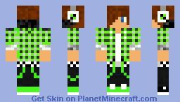 EXTREME SUIT Minecraft Skin