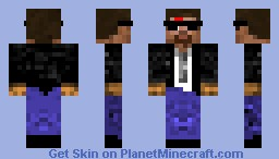 oujae -with a suit Minecraft Skin