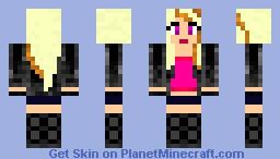 punk chick Minecraft
