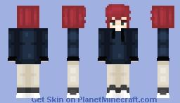 Little Winter Poet Minecraft Skin