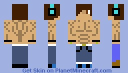 muscle man (contest skin) Minecraft Skin
