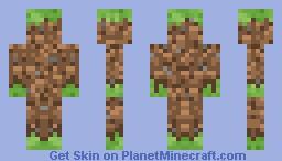 grass block Minecraft Skin