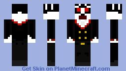 zombie/vampire butler Minecraft Skin