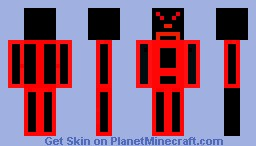 The Angry / Sad man Minecraft Skin