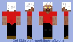 My steve Minecraft Skin