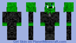 orc in a suit crying READ DESRIPTION!! Minecraft Skin