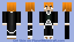 Ichigo Kurosaki [MUST-SEE IN 3D/PREVIEW] Minecraft Skin