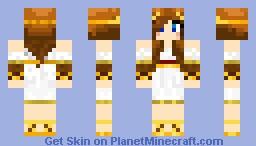 Artemis Skin Minecraft Skin