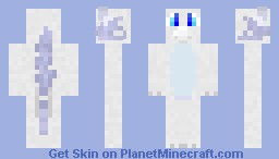 Silvvy the Dragon Minecraft Skin