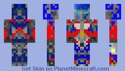 optimus prime Minecraft