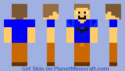 Disney Boy Minecraft Skin